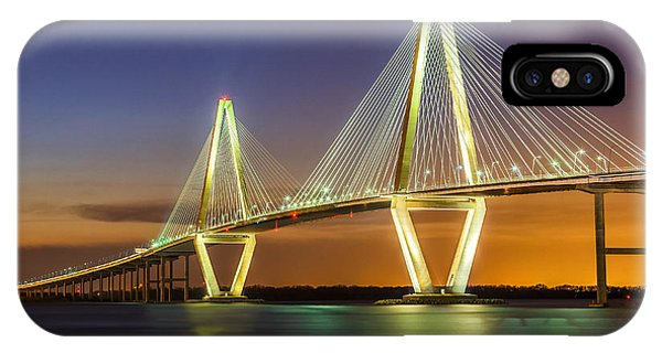 Arthur Ravenel Bridge Charleston Sc IPhone Case