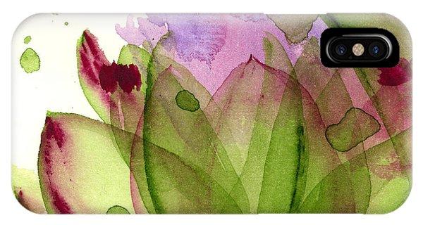 Artichoke Flower IPhone Case