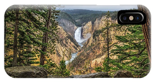 Artist Point Lower Falls   IPhone Case