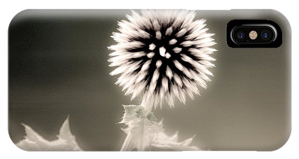 Artistic Black And White Flower IPhone Case