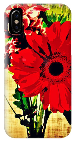 Artistic Flowers IPhone Case