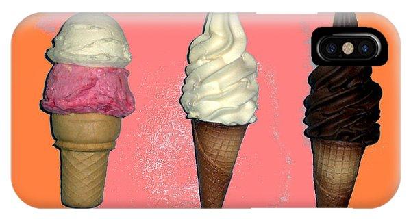 Artistic Ice Cream IPhone Case