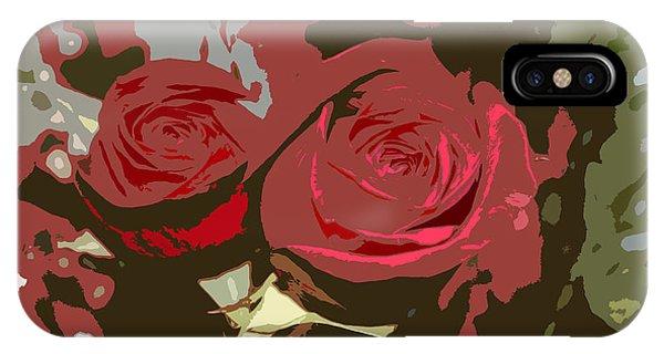Artistic Roses IPhone Case