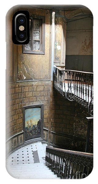 Artistic Staircase In Tbilisi IPhone Case