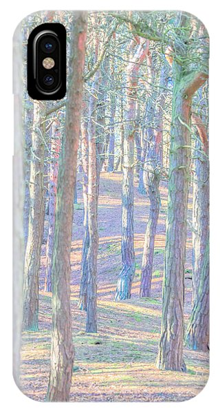 IPhone Case featuring the photograph Artistic Trees by Susan Leonard