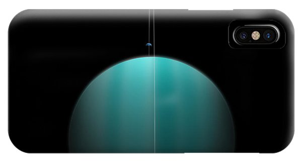 Artists Depiction Of A Ringed Gas Giant IPhone Case