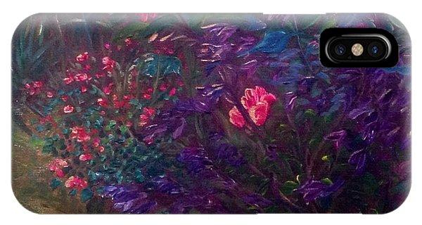 Artist's Garden In Spring I IPhone Case