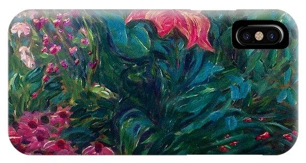 The Artist's Garden In Spring II IPhone Case