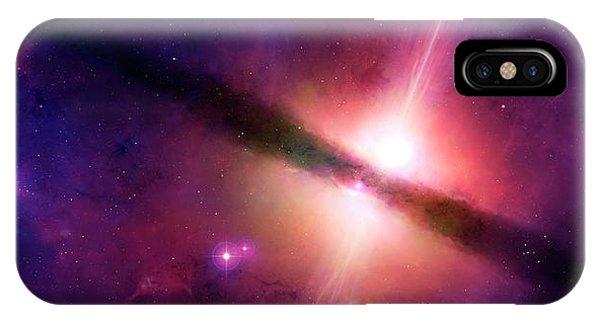 Artwork Of A Quasar IPhone Case