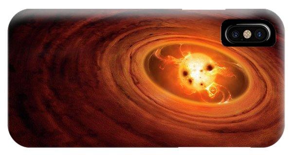 Artwork Of A T Tauri Star IPhone Case
