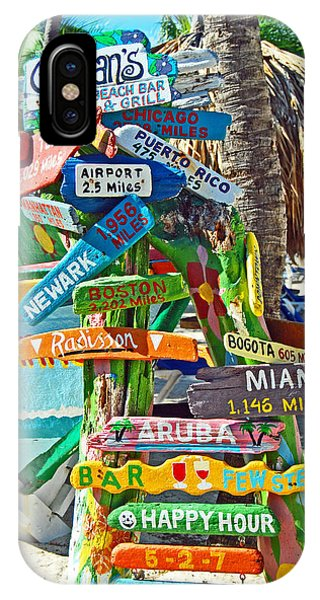 Aruba Fun Signs IPhone Case