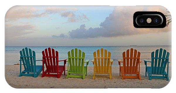 Aruba Sunrise 0746a IPhone Case