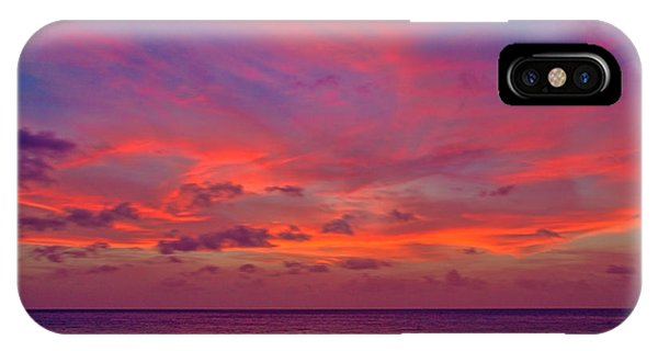Aruba Sunset IPhone Case