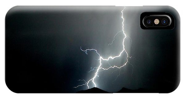 As Dark As The Night IPhone Case