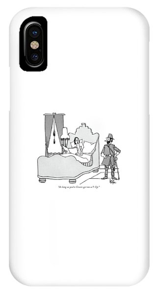 As Long As You're Grant IPhone Case