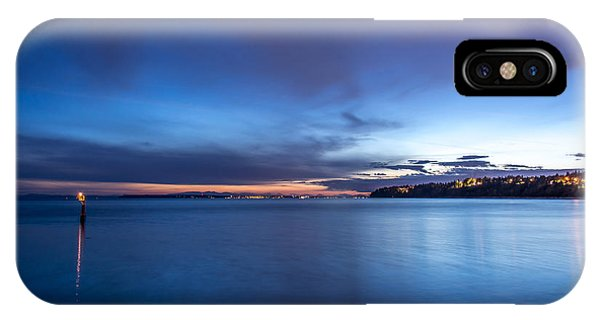 As The Night Sets In - By Sabine Edrissi IPhone Case