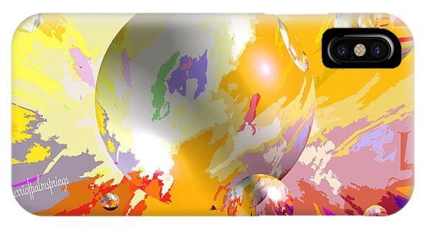 As The World Turns With Peace IPhone Case