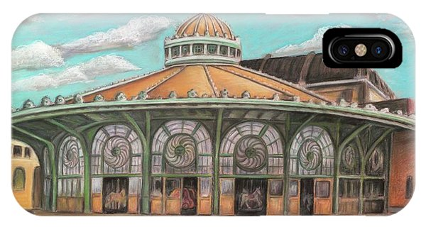 Asbury Park Carousel House IPhone Case
