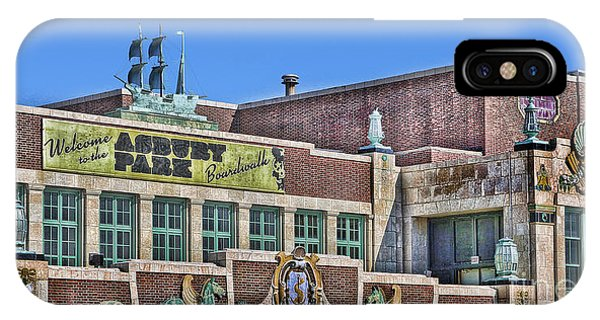 Asbury Park Convention Hall And Paramount Theatre  Phone Case by Lee Dos Santos