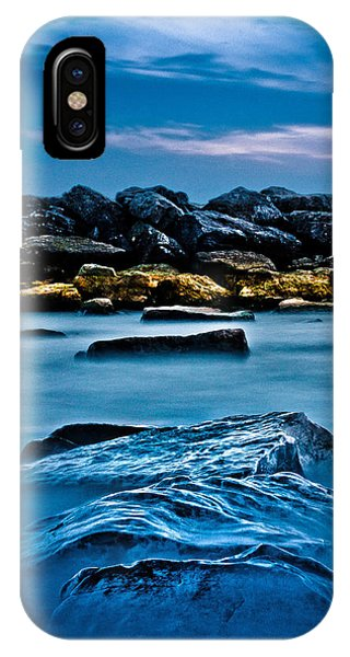 Ashbridges Bay Toronto Canada Breakwall 4 IPhone Case