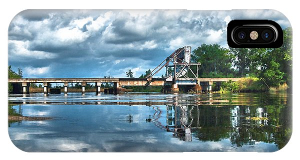 Ashepoo Train Trestle IPhone Case