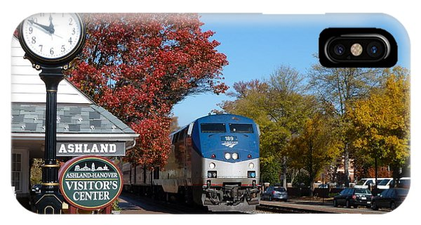 Ashland Train Depot IPhone Case