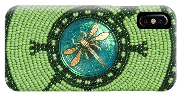Ashlee's Dragonfly Turtle IPhone Case