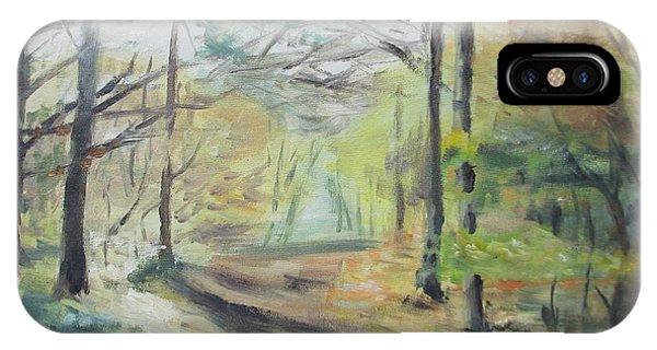Ashridge Woods 2 IPhone Case
