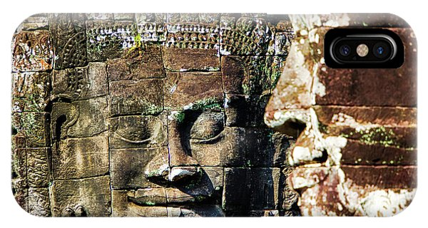 Angkor Thom iPhone Case - Asia, Cambodia, Angkor Watt, Siem Reap by Terry Eggers