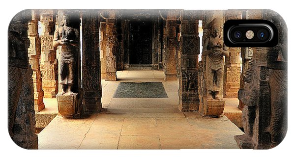 Roxbury iPhone Case - Asia, India, Tamil Nadu, Padmanabhapuram by Steve Roxbury