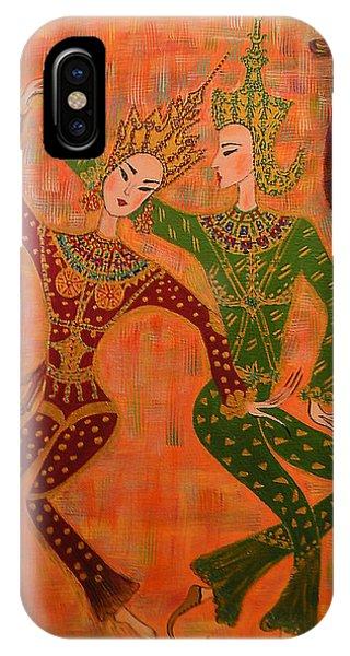 Asian Dancers IPhone Case
