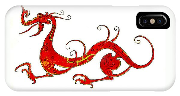 Dragon iPhone Case - Asian Dragon by Michael Vigliotti