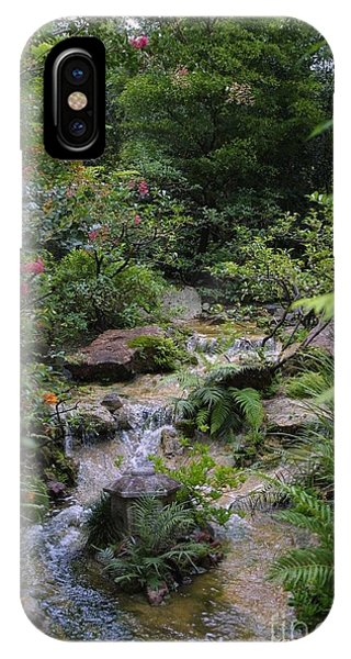 Asian Garden IPhone Case