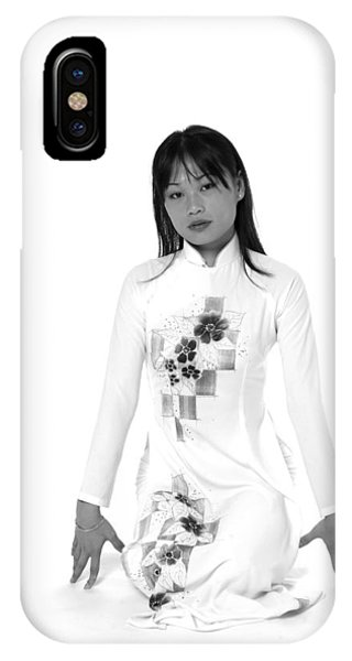 Asian Girl IPhone Case
