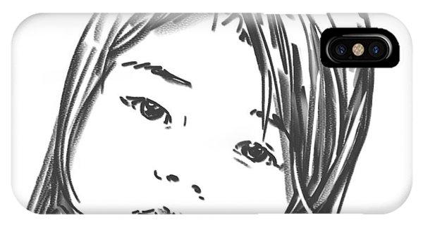 Asian Girl IPhone Case
