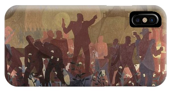 Harlem iPhone Case - Aspects Of Negro Life by New York Public Library/aaron Douglas