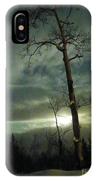 Aspen In Moonlight IPhone Case