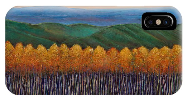 Bloom iPhone Case - Aspen Perspective by Johnathan Harris