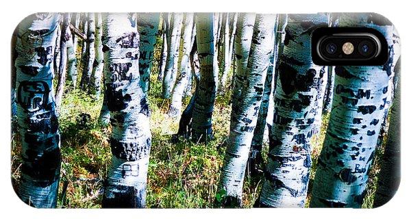 Aspen Tree IPhone Case