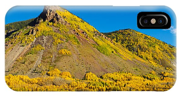 Anvil iPhone Case - Aspen Trees On Mountain, Anvil by Panoramic Images
