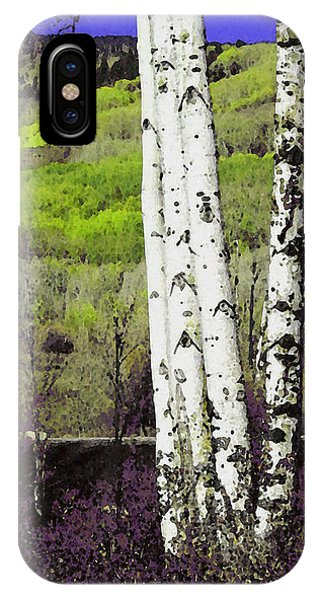 Aspens 4 IPhone Case