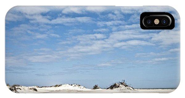 Assateague National Park Dunes IPhone Case