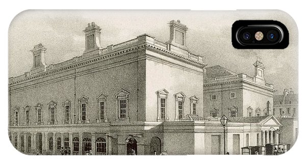 Assembly Rooms, Bath, Circa 1883 IPhone Case