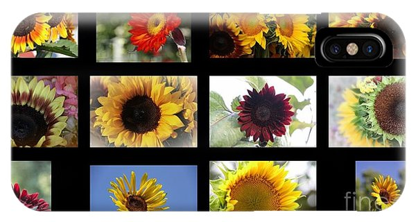 Assorted Sunflower IPhone Case
