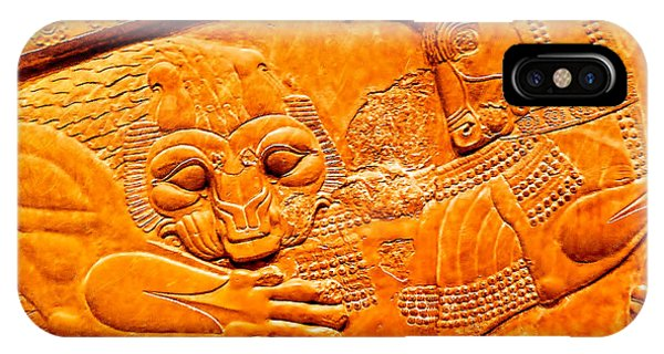 Assyrian Lion IPhone Case