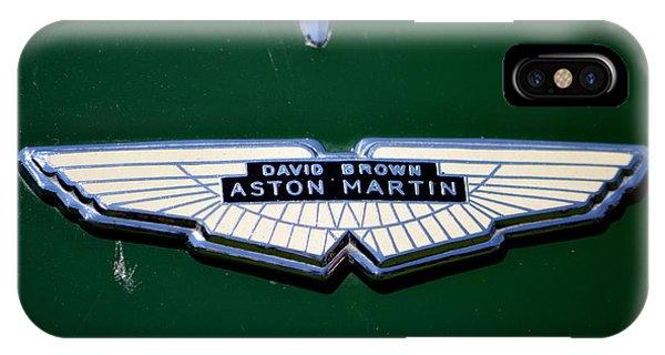Aston Martin Badge IPhone Case