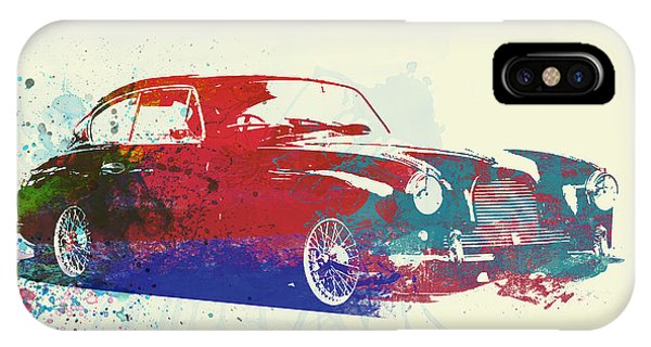 Martin iPhone Case - Aston Martin Db2 by Naxart Studio