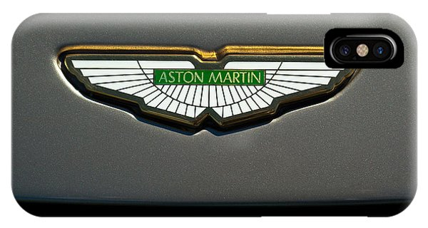 Aston Martin Emblem IPhone Case