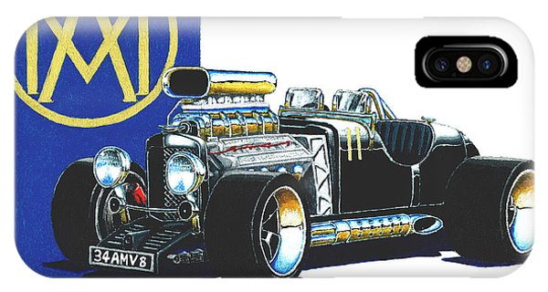 Aston Martin Hot Rod IPhone Case