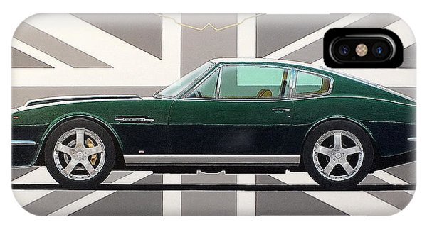Aston Martin V8 Vantage IPhone Case